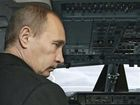 Путин приземлился в Крыму. В дождь, в непогоду...