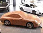 Porsche выпустил шоколадный автомобиль S класса. Фото
