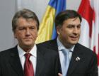 Ющенко уединился с Саакашвили. Кумовья решили переговорить  «с глазу на глаз»