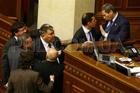 Как депутаты дрались в Раде. Фоторепортаж