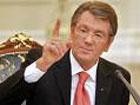Ющенко ткнул Медведева носом в газ
