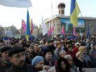 В Киеве устроили новый Майдан. Антиоранжевый. Фото