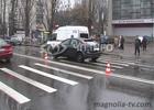 «Форд» переехал пожилую киевлянку прямо на «зебре». Фото