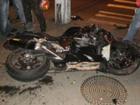 Мотоцикл наломал нормальных дров в Одессе. Фото