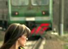 Крымский поезд переехал женщину