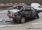 Киев. Пьяный водила пошел на принцип. Ничем хорошим это не закончилось. Фото