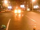Киевлянин, находясь за рулем легковушки, налетел на велосипедиста-невидимку. Фото