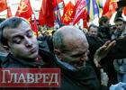Кровь и краска. Открытие памятника вождю пролетариата не обошлось без скандала. Фото с места события