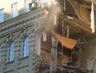 В центре Москвы рухнуло здание. Есть жертвы