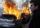 Женева в огне. Здесь не на шутку разошлись антиглобалисты. Фото