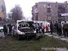 В центре Киева обезумевший «Ланос» влетел на тротуар и сбил шестерых пешеходов. Фото