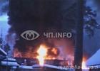 Россия. Бензовоз влетел в поезд. Пожар начался неимоверный. Фото