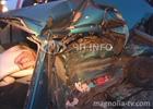 Авария под Киевом. Девушка-водитель погибла не справившись с управлением. Фото