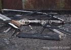 Причиной неслабого пожара в Киеве стала электропроводка. Фото