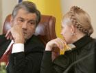 Ющенко и Тимошенко больше всех маячили на телеэкране