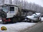 В неслабой аварии на Сумщине погибли иностранцы. Фото