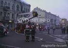 Пожар заставил киевлянку сигануть с 3-го этажа. Фото