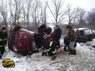 3 человека погибло, 4 повезло немного больше. Таков печальный итог аварии на Донетчине. Фото