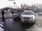 В Киеве женщина за рулем спровоцировала неслабое ДТП. И куда она только смотрела? Фото
