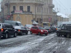 Снежный ужас в Черновцах. Фоторепортаж