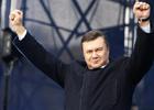 Януковича во Львове охраняла сотня ментов. Чтобы яйца не долетали?