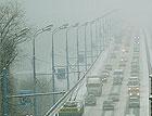 Киев заметает снегом. Центр города полностью парализован