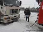 Мороз и снег – день кошмарный. Непогода потрепала Николаевщину. Фото