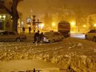 Хаос в заснеженной Одессе. Фоторепортаж с места происшествия