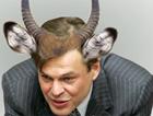 Терехин хочет бодаться с Азаровым