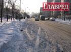 Киев превратился в снежную ловушку для автомобилей. Фото