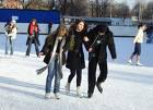 В столичных парках открываются бесплатные катки
