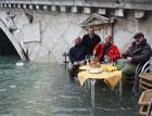 Из-за сильных осадков затопило более половины Венеции