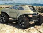 Дизайнер создал модель для купе-кроссовер для Hummer. Фото