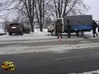 «ГАЗель» и Volkswagen сошлись в жестоком противостоянии. Водитель и пассажирка «немца» погибли на месте. Фото