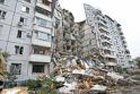 В центре Харькова рухнула стена шестиэтажного дома