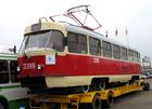 В Киеве трамвай сошел с рельсов. Пассажиры отделались легким испугом