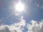 Жаркая погода надолго осела в Украине