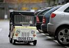 Британцы презентовали самый маленький автомобиль в мире. Фото