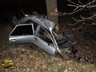 Трагедия на Черкасщине. В результате удара легковушку разорвало на части. Погибли все, кто находился в машине. Фото