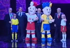 В Варшаве презентовали талисманы Евро-2012. Фото