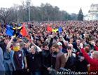Предприниматели перекрыли трассу Киев-Чоп и требуют низвергнуть Януковича