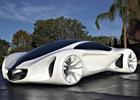Компания Mercedes-Benz создала автомобиль из «биоволокна». Фото