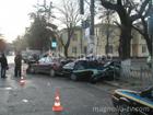 В Крыму гаишника скомкали вместе с его же машиной. Фото