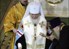 Любитель всего мирского Патриарх Кирилл мчится в Украину