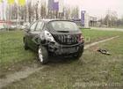 В Киеве алкаш на «Форде» разбил «Опель», который только выехал из автосалона. Фото