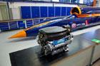Новый ракетомобиль будет разгоняться до 1600 км/ч. Фото