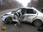 На Харьковщине сильно стукнулись «ВАЗ» и «Ниссан». В больницу попали семь человек. Фото