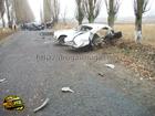 На Харьковщине пьяный на внедорожнике раздолбал «Волгу» и убил двух взрослых и одного ребенка. Фото