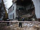 После укрепления фундамента в школе на Донетчине обвалилась стена. Фото