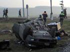 Очередная смертельная авария на железнодорожном переезде в Днепропетровской области. Фото